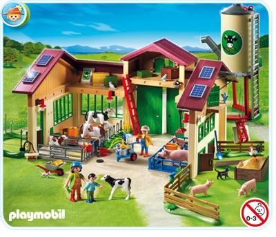 playmobil boerderij met panelen